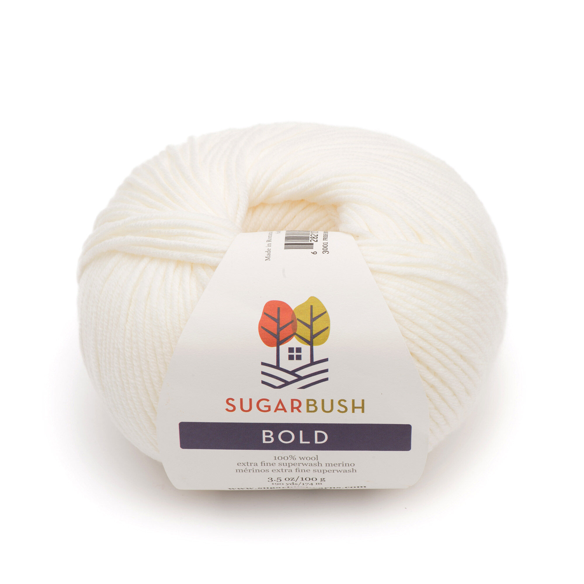 Sugar Bush Yarn Bold Knitting Worsted Weight Fresh Snow