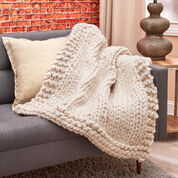 Go to Product: Red Heart Wonderful Big Stitch Throw in color