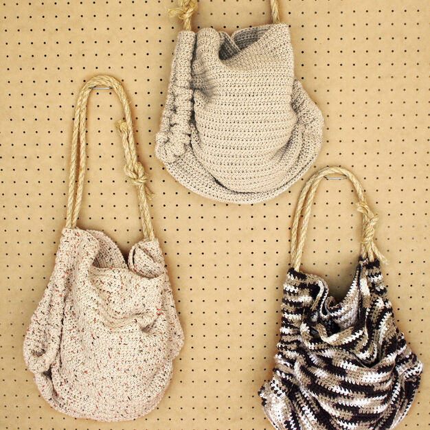 Bernat Summer Totes , Solids in color