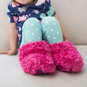 Go to Product: Red Heart Child Fur Boot Slippers, Child 4/8 in color