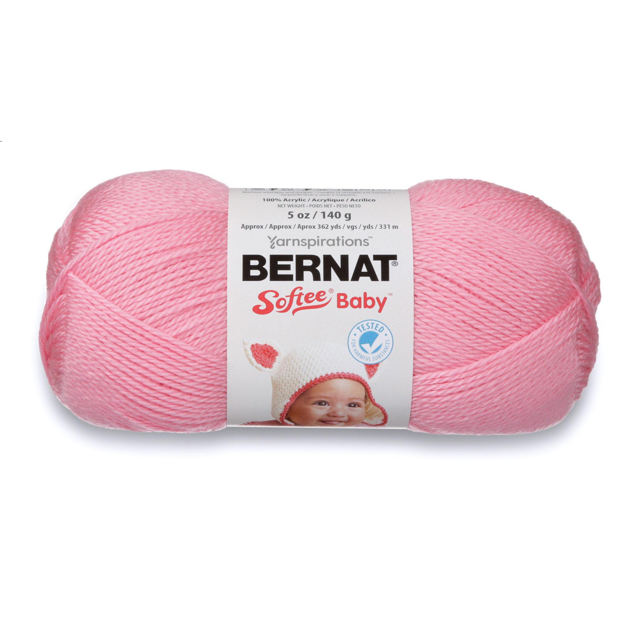 Bernat Softee Baby Yarn Prettiest Pink Yarnspirations