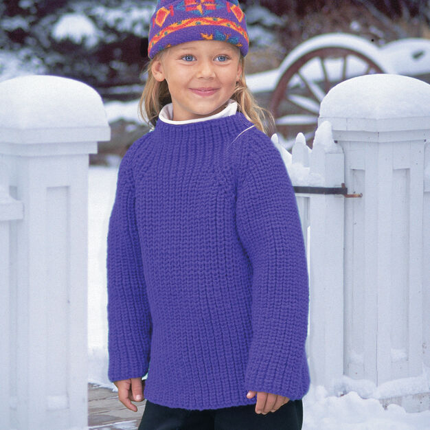 Patons Shaker Tunic, Small in color