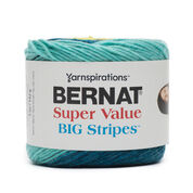 Bernat Super Value Big Stripes Yarn
