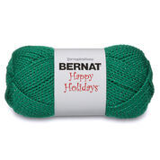 Go to Product: Bernat Happy Holidays Yarn in color Glittery Green