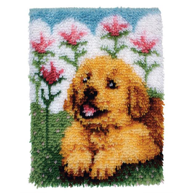 Wonderart Flower Pup Kit 15 x 20 in color