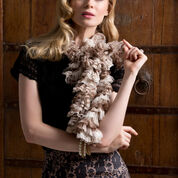 Go to Product: Red Heart Be Neutral Ruffle Scarf in color