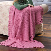Go to Product: Red Heart Blushing Rose Throw in color
