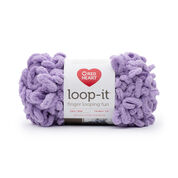 Go to Product: Red Heart Loop-It Yarn (100 g/3.5 oz) in color Purrr-Ple