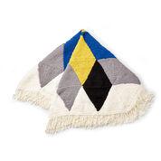 Bernat Hexagonal Starburst Knit Afghan