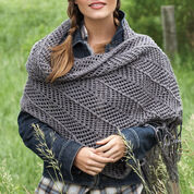 Go to Product: Bernat Chevron Shawl in color