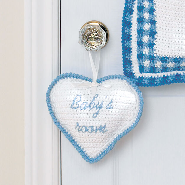 Lily Sugar'n Cream Baby's Room Sign in color