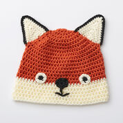 Caron Fox Hat, 6-12 mos
