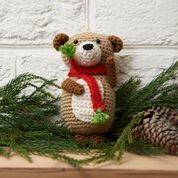 Red Heart Bear Ornament