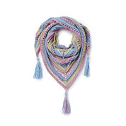 Caron Cakes Sunset Dreams Crochet Shawl