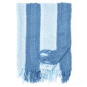 Bernat Shades of Blue Blanket