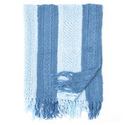 Bernat Shades of Blue Blanket