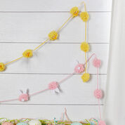 Red Heart Bunny and Chick Party Decorations