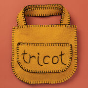 """Patons Felted """"Tricot"""" Bag"""