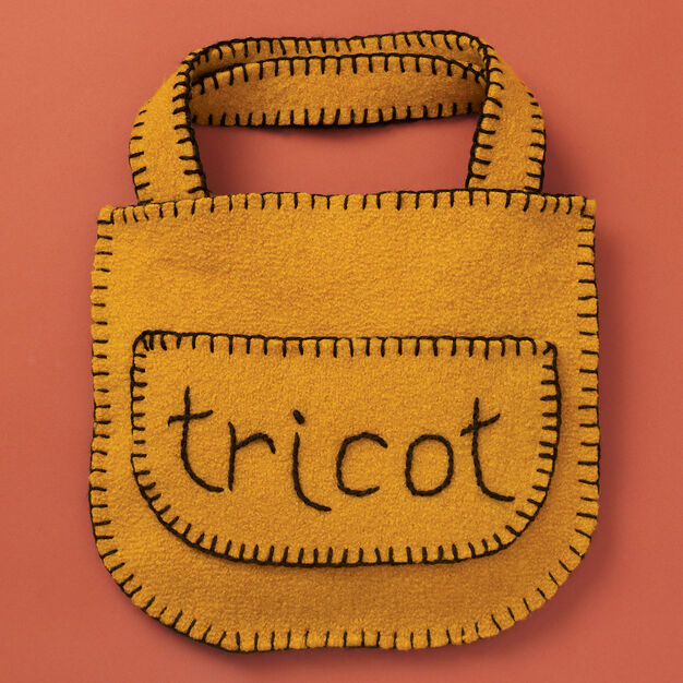 "Patons Felted ""Tricot"" Bag"