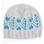 Patons Blue Fir Hat