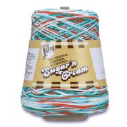 Lily Sugar'n Cream Cone Yarn (400g/14 oz) in color Ahoy Ombre