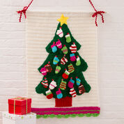 Go to Product: Red Heart Christmas Tree Wall Hanging in color