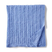 Go to Product: Bernat Lacy Knit Baby Blanket in color