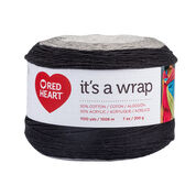 Go to Product: Red Heart It's a Wrap Yarn, Thriller in color Thriller