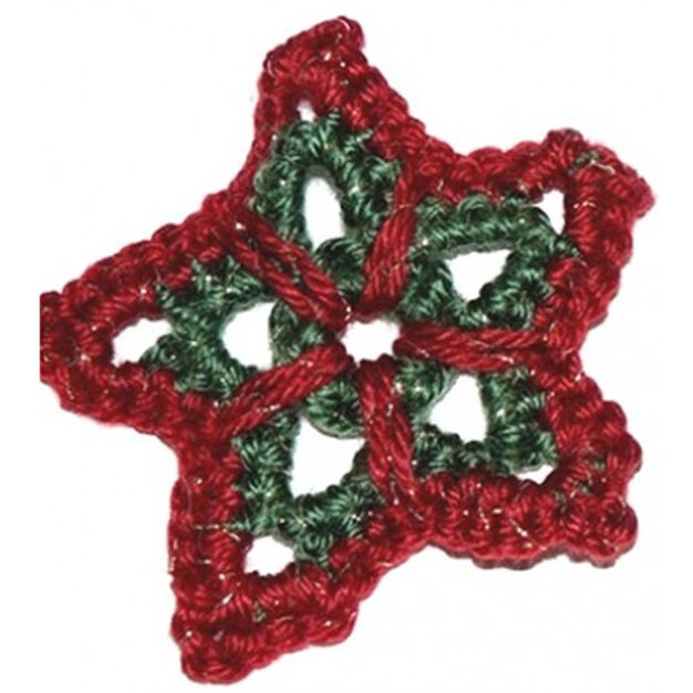 Caron Christmas Star Ornament