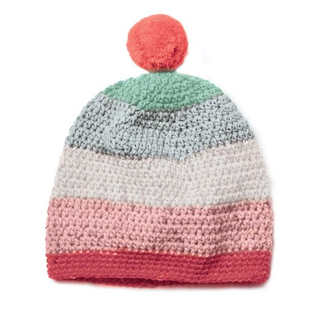 Caron Crochet Beanie Pattern  ae90da512f1