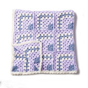 Bernat Building Blocks Crochet Blanket