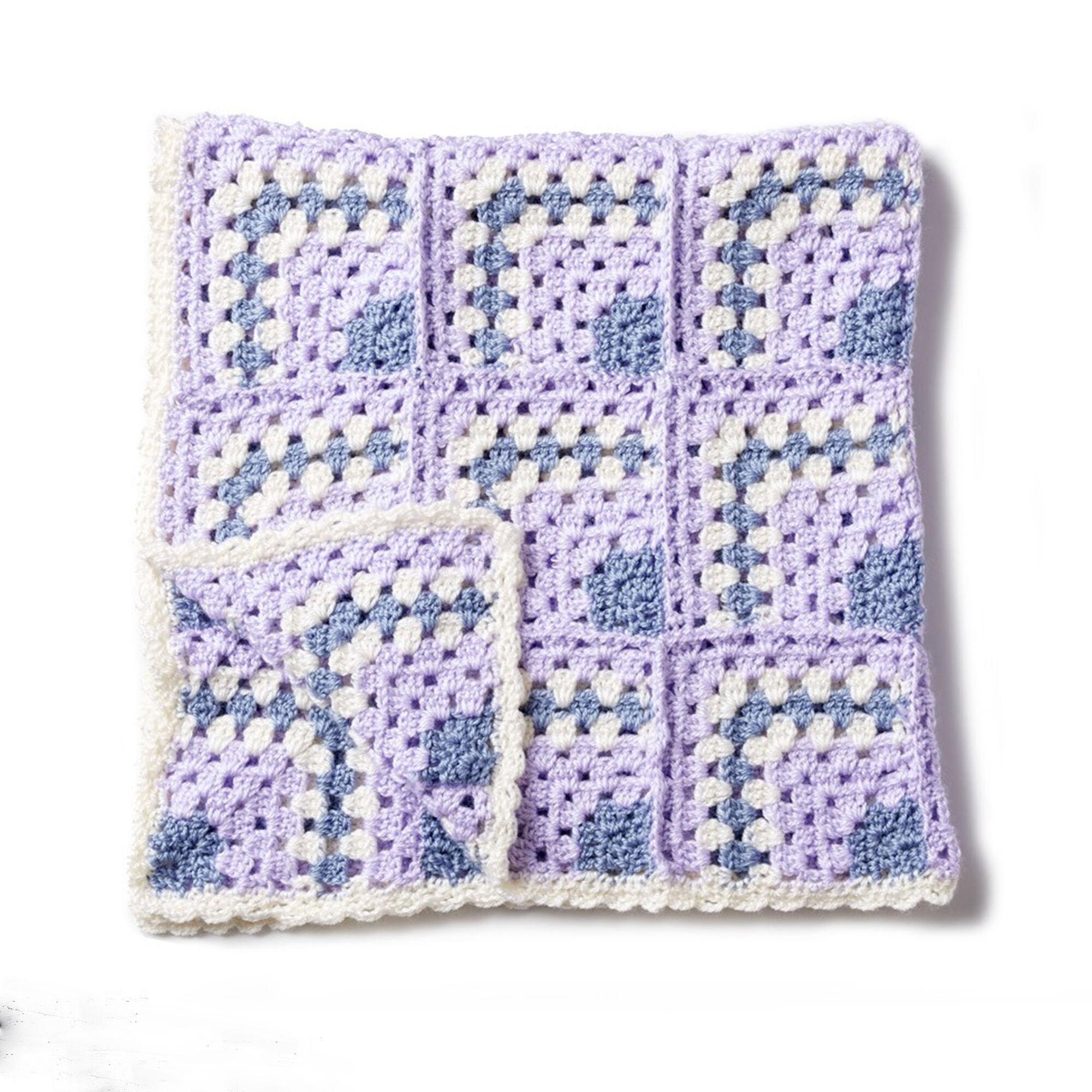 Bernat Building Blocks Crochet Blanket | Yarnspirations