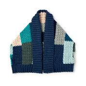 Caron x Pantone Crochet Boxy Garment, XS/S/M/L