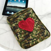Red Heart Love My iPad Case