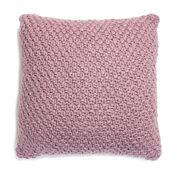 Patons Irish Moss Knit Floor Pillow