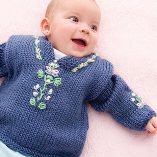 Caron Baby Folkwear Caftan, 3 mos
