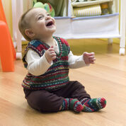 Go to Product: Red Heart Baby's Holiday Vest & Socks, 6 mos in color