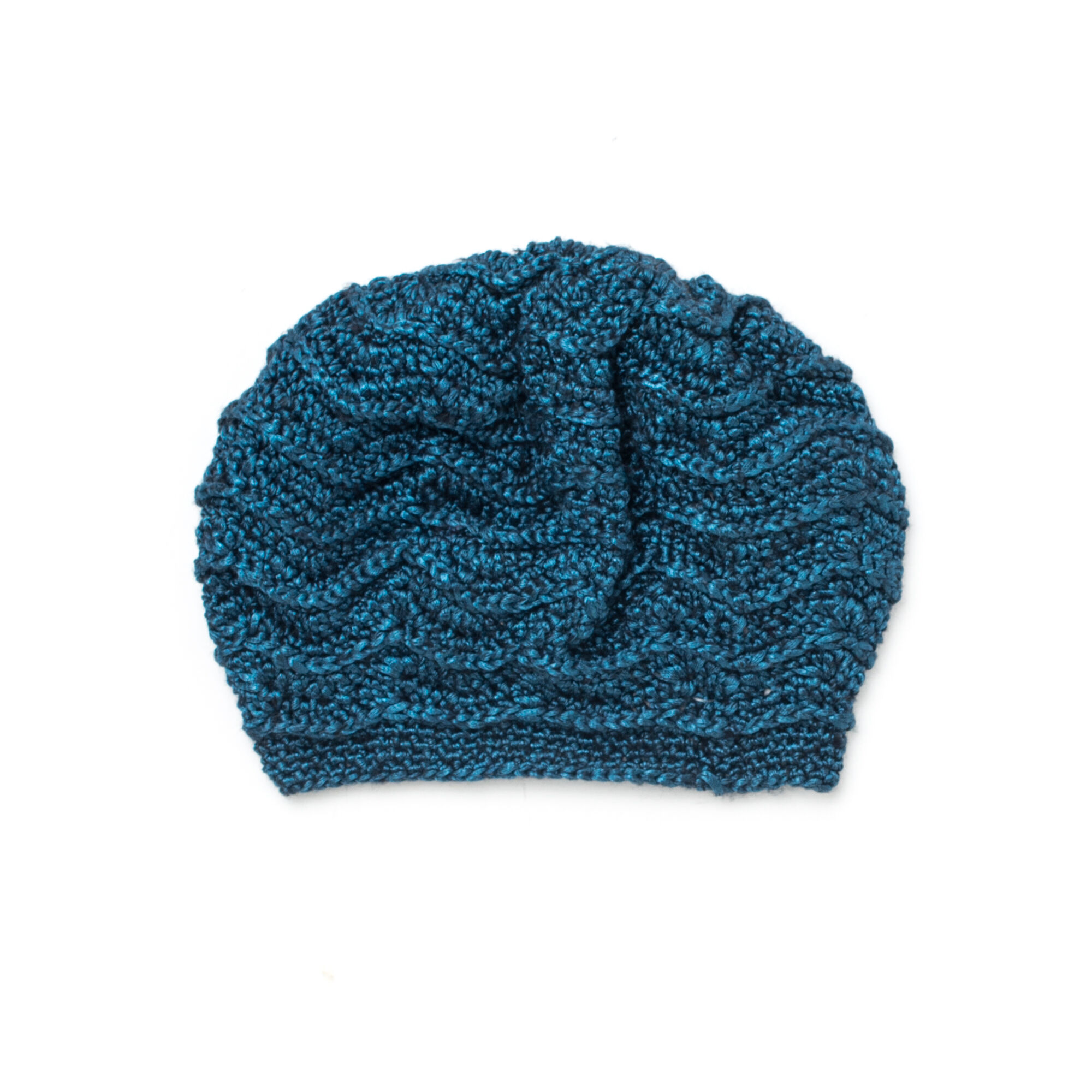 Patons Wave Stitch Beret | Yarnspirations