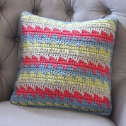 Go to Product: Bernat Reversible Spike Stitch Pillow Cover in color