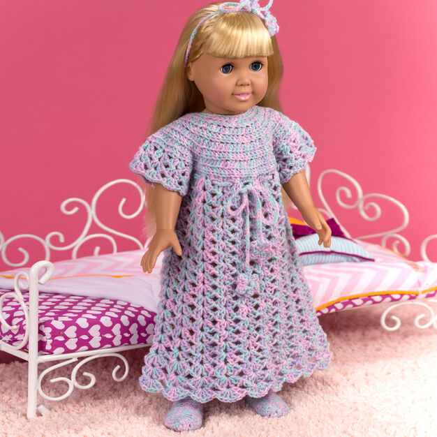 Red Heart Bedtime for Dolls