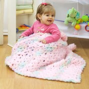 Red Heart Sweet Dreams Crochet Blanket