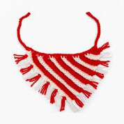 Go to Product: Red Heart Peppermint Crochet Pet Neckerchief in color