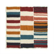 Go to Product: Bernat Staggered Stripes Crochet Blanket in color