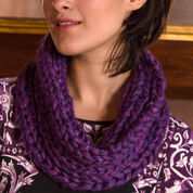 Go to Product: Red Heart Purple Passion Cowl in color