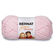 Go to Product: Bernat Softee Chunky Yarn (100g/3.5oz) in color Baby Pink