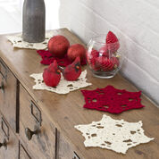 Red Heart Big Snowflake Doilies
