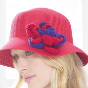 Patons Rose Hat Pin