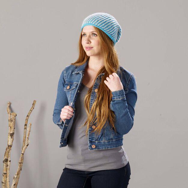 Sugar Bush Mountain Top Slouchy Knit Hat