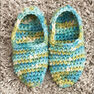 Bernat Quickie Slippers, S in color  Thumbnail Main Image 3}