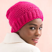 Red Heart Sparkling Cloche